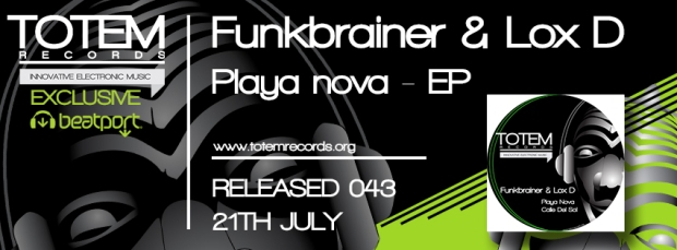 Time Line Facebook - Funkbrainer & Lox D - Playa nova - EP